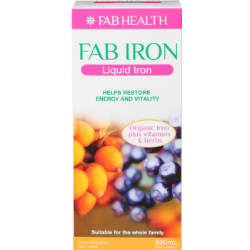 FAB Iron Liquid 250ml