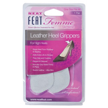 Neat Feat Femme Leather Heel Grippers 1 Pair