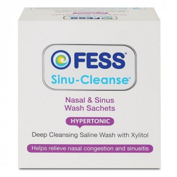 Fess Sinu-Cleanse Nasal and Sinus Wash Refills 25 Sachets