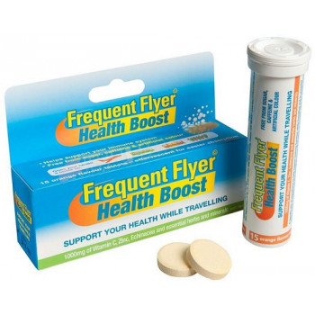 Frequent Flyer Health Boost Orange 15 Effervescent Tabs