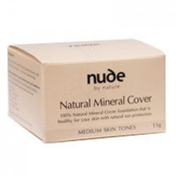 Nude By Nature Mineral Cover For Medium Skin Tones 15G