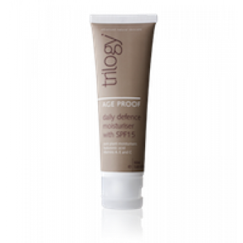 Trilogy Age Proof Daily Defence Moisturiser with SPF15 50ml