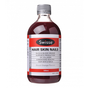 Swisse Hair Skin Nails Blood Orange Flavour 500ml