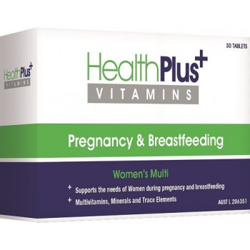 Health Plus Pregnancy and Breastfeeding Multi 30 Tabs