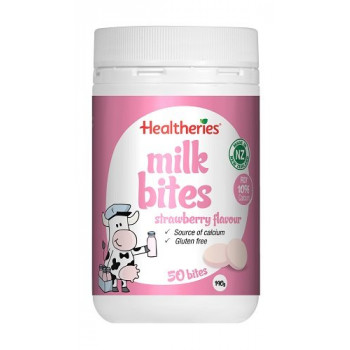 Healtheries Milk Bites Strawberry Flavour 190g