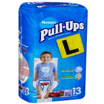 Huggies Pull-Ups Size 4 Boy 17+ kg 13 Pants