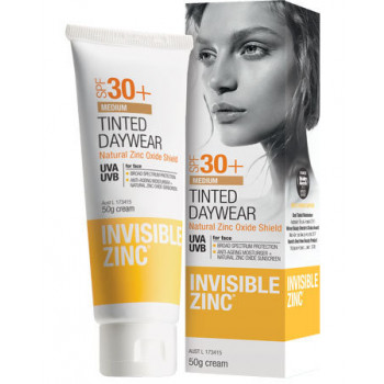 Invisible Zinc Tinted DayWear SPF 30+ For medium to tan skin 50G