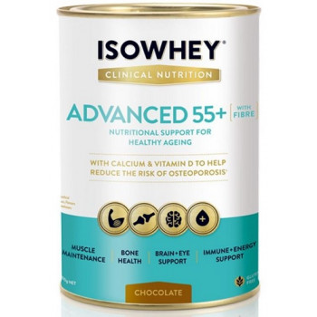 IsoWhey Clinical Nutrition Advanced 55+ Chocolate 400g