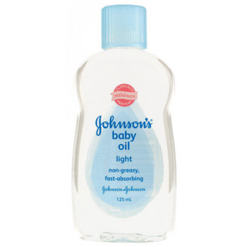 Johnson & Johnson Baby Oil Lite M/B 125M