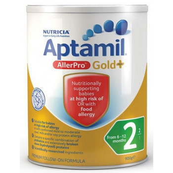 Aptamil Gold + Allepro Step 2 900G