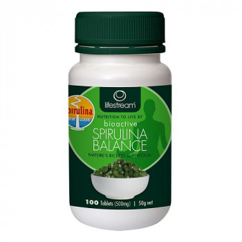 Lifestream Bioactive Spirulina Balance 500mg 100 Tabs