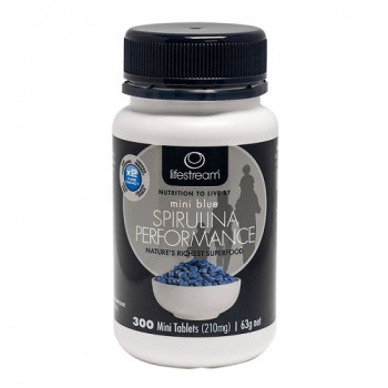 Lifestream Spirulina Blue Mini Performance 300 Tablets