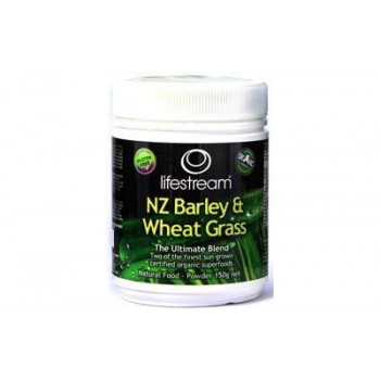 Lifestream Barely and Wheat Grass Powder 150g