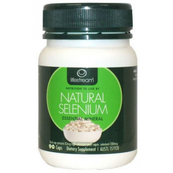 LifeStream Natural Selenium 90 Caps