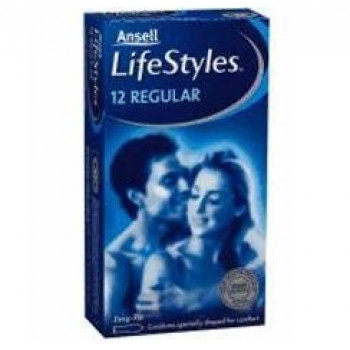 Lifestyle Condom Regular 12