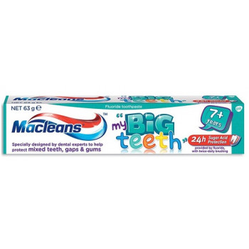 Macleans My Big Teeth Toothpaste 7+ years 63g