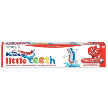Macleans Little Teeth Toothpaste 4-6 years 63g