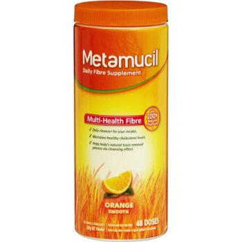 Metamucil Smooth Powder Orange 48 Doses