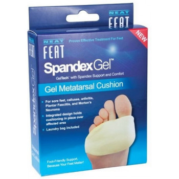 Neat Feat Spandex Gel Metatarsal Cushion Large 2pack