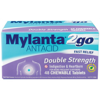 Mylanta Double Strength  48S
