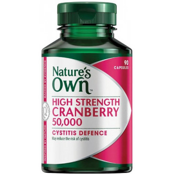 Nature's Own High Strength Cranberry 50,000 90 Capsules