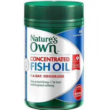 Nature's Own Concentrated Fish Oil  x 60