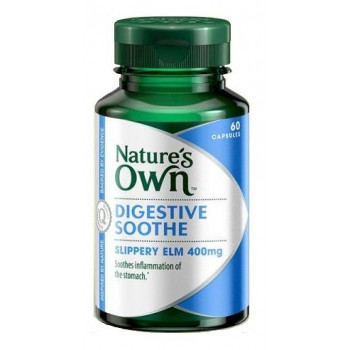 Nature's Own Digestive Soothe (Slippery Elm 400mg) 60 Caps