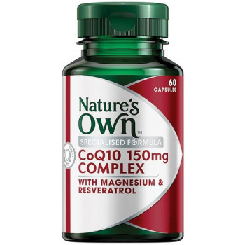 Nature's Own High Strength CoQ10 60 Capsules