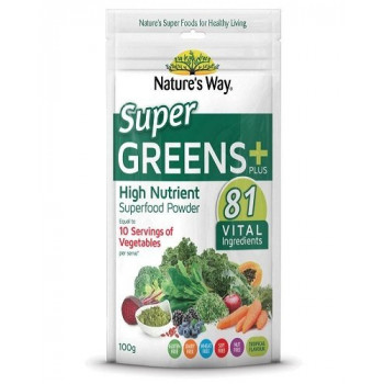 Nature's way Super Greens Plus Powder 100g