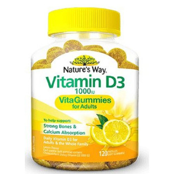 Nature's Way Vitamin D3 VitaGummies 120 Pastilles