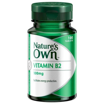 Nature's Own Vitamin B2 100MG X 100 TABS