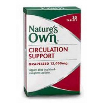 Nature's Own Circulation Support x 30 Tabs