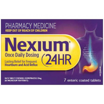 Nexium 24HR 20MG 7 Tablets