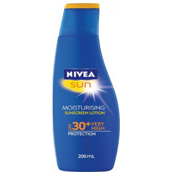 Nivea Sun Moisturising Sunscreen Lotion SPF 30 High 200ml
