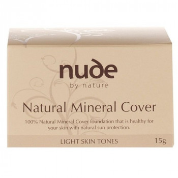 Nude By Nature Mineral Cover For Light Skin Tones 15G