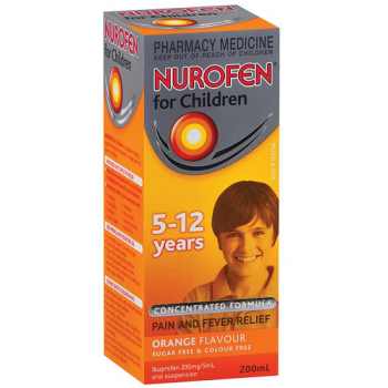 Nurofen Children 5-12 years Orange Flavour 200ml