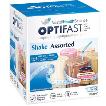Optifast VLCD Shake Assorted Pack 10x53g