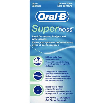 Oral B Superfloss 50Strip