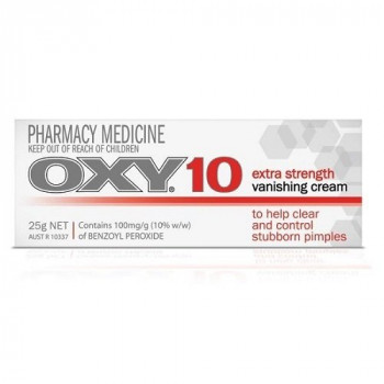 Oxy 10 Vanishing Pimple Medication 25g