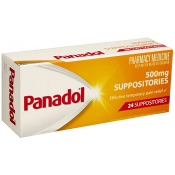 Panadol Suppositories 500mg 24