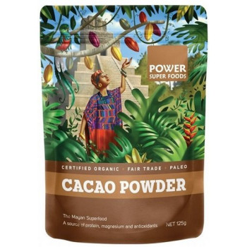 Power Super Foods Cacao Powder Origin Series 125g