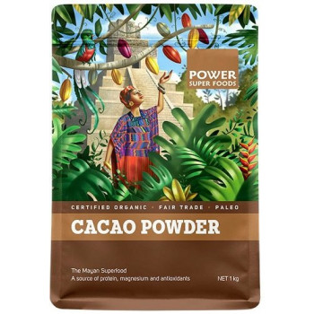 Power Super Foods Cacao Powder Origin Series 1kg