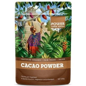 Power Super Foods Cacao Powder Origin Series 250g