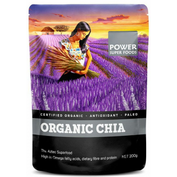 Power Super Foods Organic Chia seeds 200g