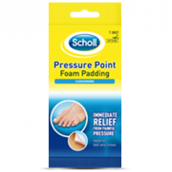 Scholl Pressr Point Adh Foam