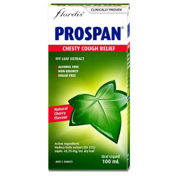 Prospan by Flordis Chesty Cough Oral Liquid 100mL