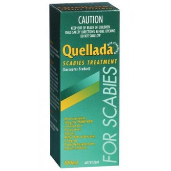 Quellada Scabies Treatment 100
