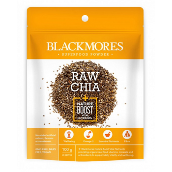 Blackmores Superfood Powder Raw Chai 100g