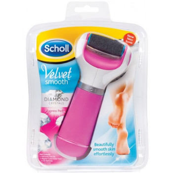 Scholl Velvet Smooth Express Pedi Foot File Pink