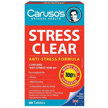 Caruso's Stress Clear 60 Tabs